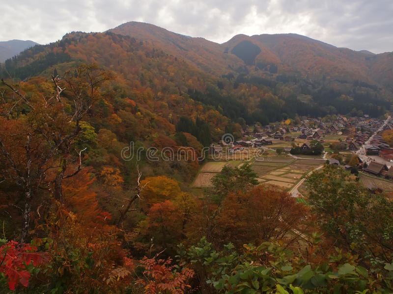 Shirakawa-go, Gifu, Japan royalty free stock photography