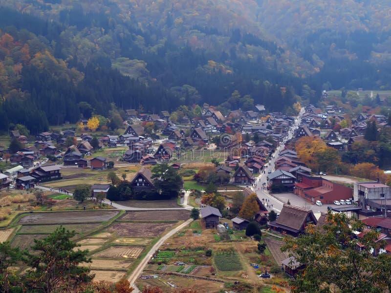Shirakawa-go, Gifu, Japan stock photography