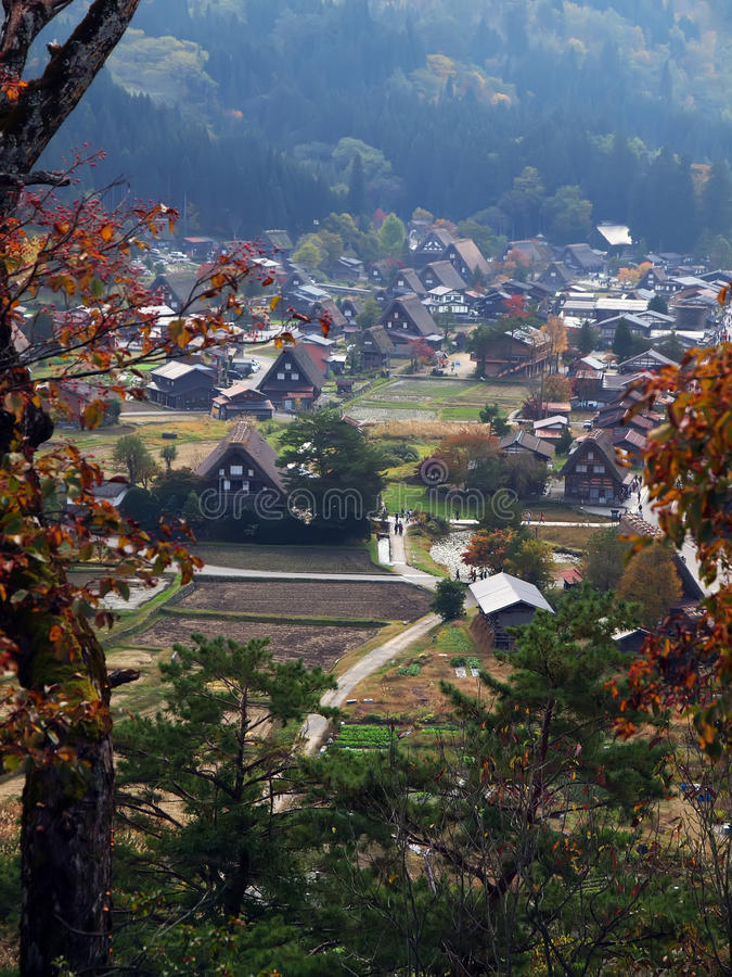 Shirakawa-go, Gifu, Japan royalty free stock image