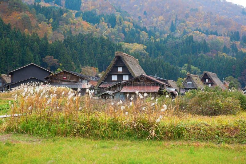 Shirakawa-go, Gifu prefecture, Japan stock photo