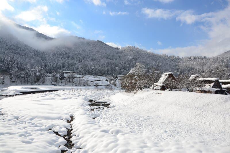Shirakawa-go royalty free stock photography