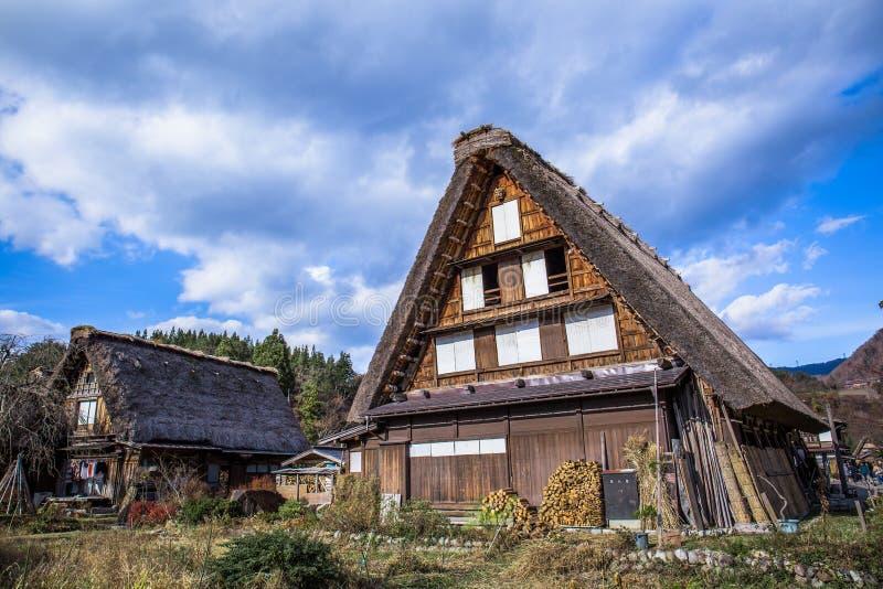 Shirakawa vai imagem de stock royalty free