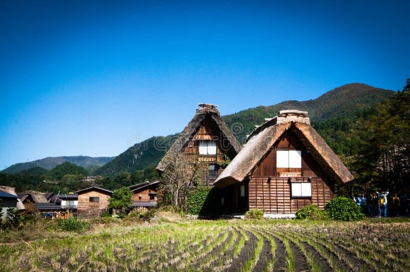 Shirakawa-vaya imagenes de archivo