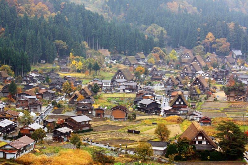 Download Shirakawago stock photo. Image of view, asia, village - 27702398