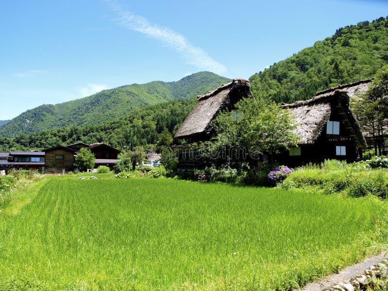 Shirakawago photos libres de droits