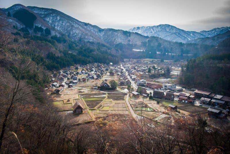 Shirakawago images libres de droits