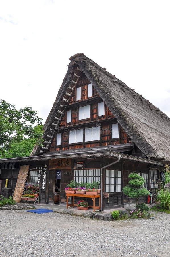Shirakawago, Japón foto de archivo libre de regalías