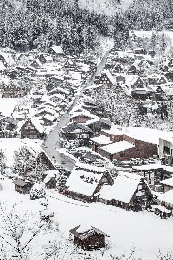 Shirakawago village stock image. Image of architecture ...