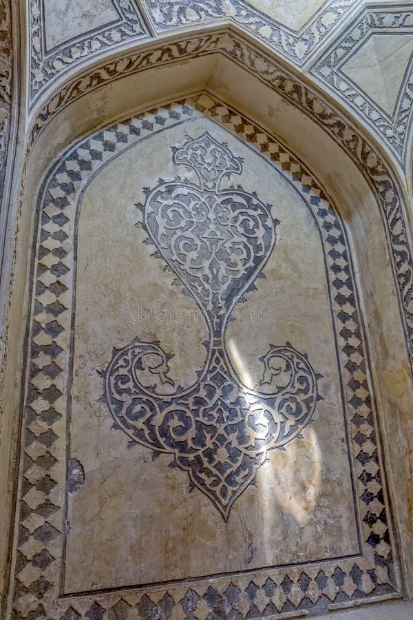 Shiraz Citadel rumvägg royaltyfria foton
