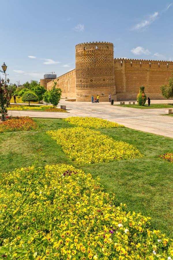 Shiraz Citadel Vakil Fortress fotografia de stock