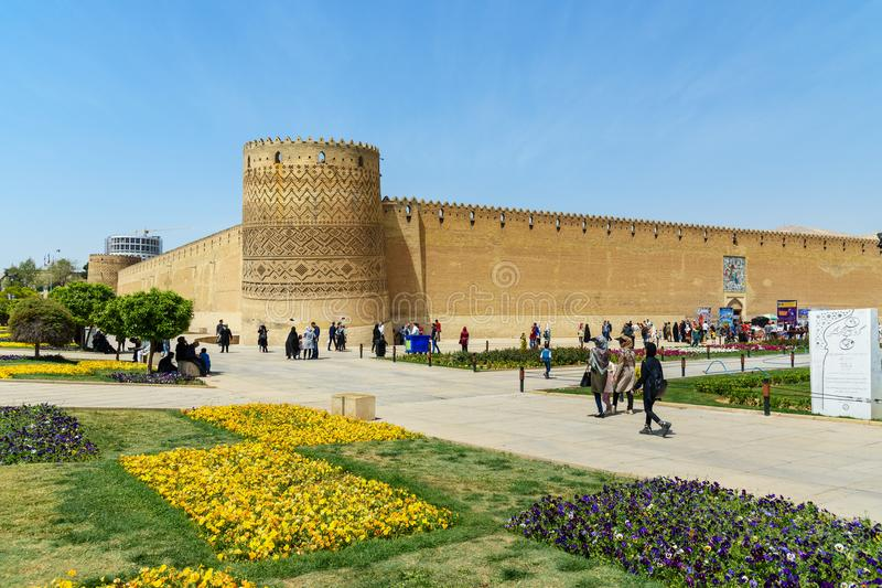 Karim Khan Castle in Shiraz. Iran stock photos