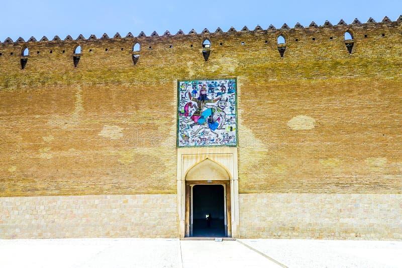 Shiraz Karim Khan Castle 04 arkivfoto