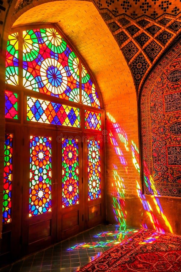 Shiraz Pink Mosque 05 fotografía de archivo libre de regalías