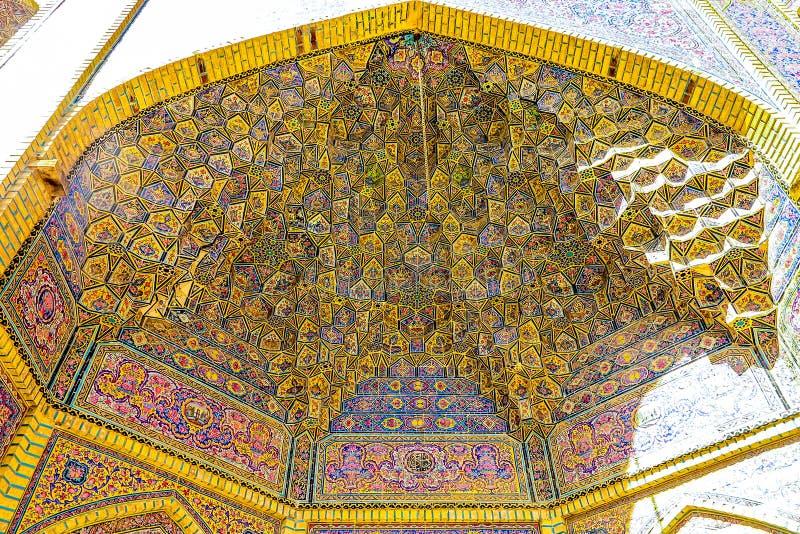 Shiraz Pink Mosque 08 foto de archivo libre de regalías