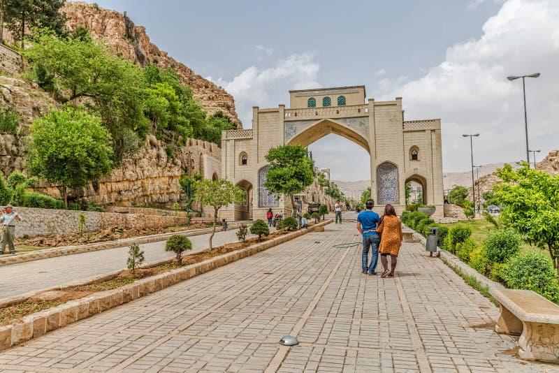 Shiraz Quran Gateway arkivfoto
