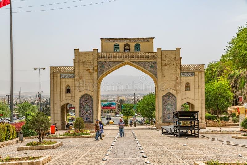 Shiraz Quran Gateway royaltyfri bild