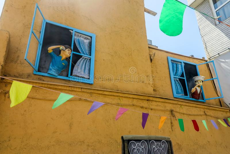 Shiraz Street Art stock foto