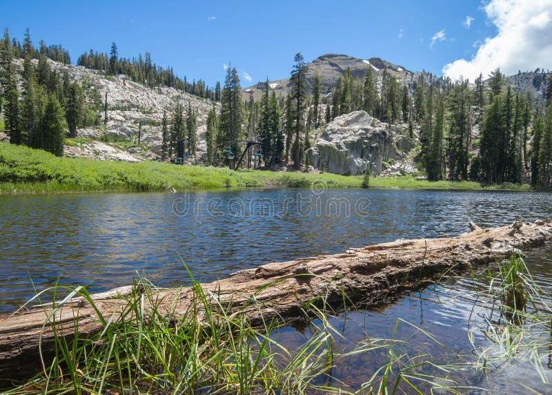 Shirley Lake Kalifornien arkivfoto