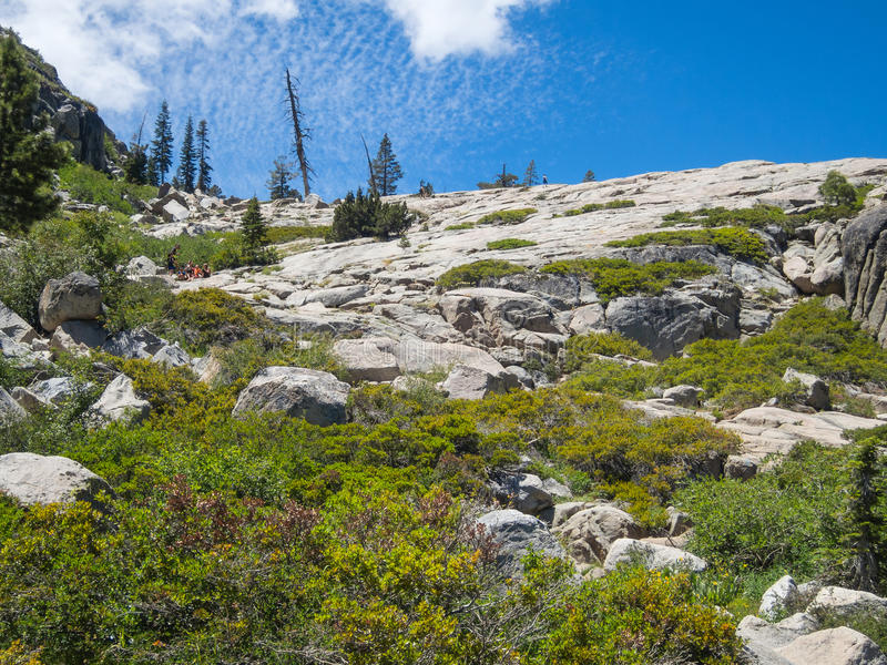 Shirley Lake Trail stock afbeelding