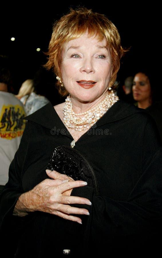 Shirley MacLaine royalty free stock photo
