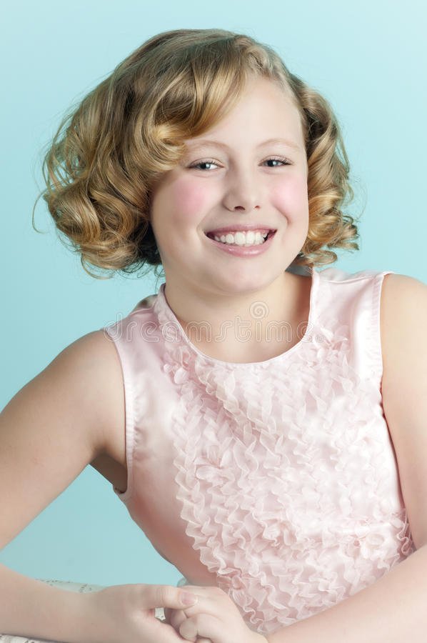 Free Shirley Temple Look-a-Like Royalty Free Stock Photography - 18987197