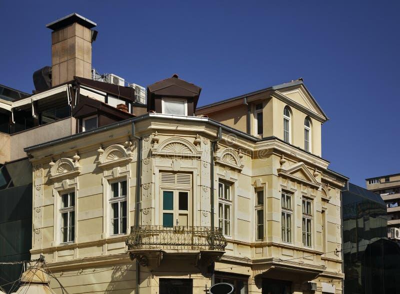 Shirok Sokak街道在比托拉 马其顿 免版税库存照片
