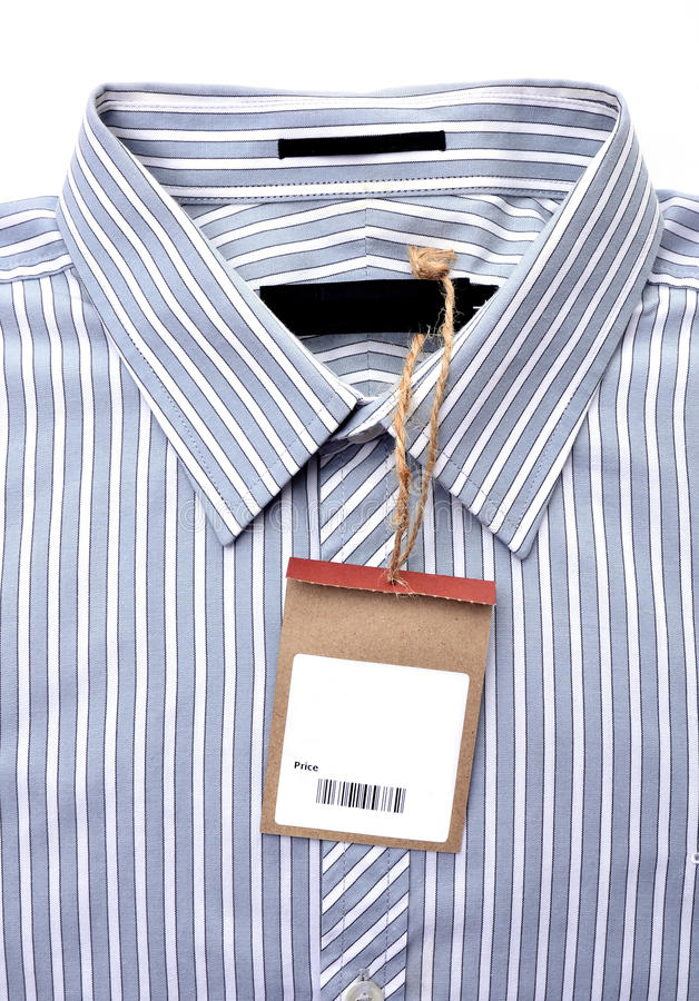 Shirt With Price Tag Royalty Free Stock Images - Image ...
