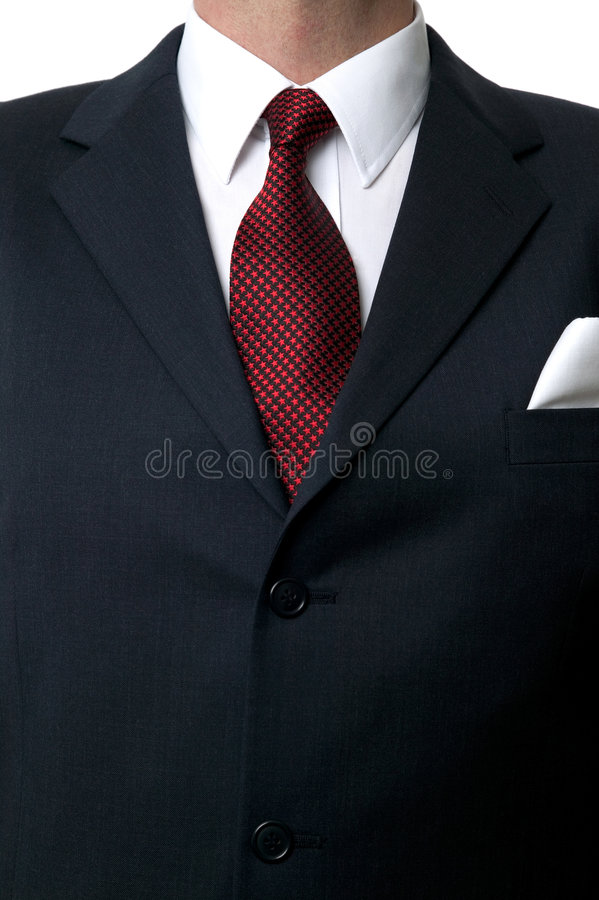 Shirt and tie torso royalty free stock photography