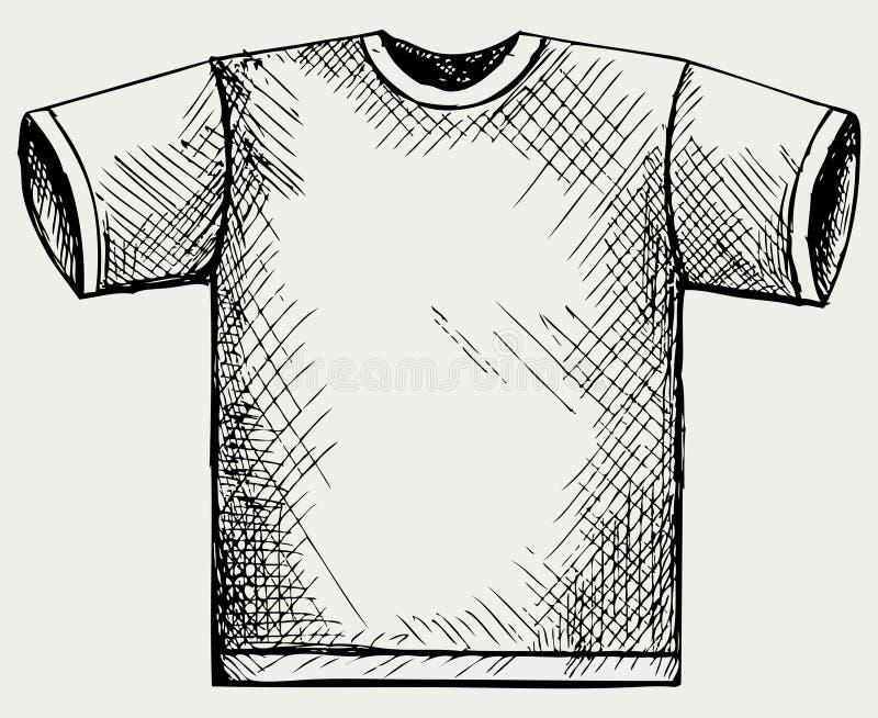 Shirtauslegung vektor abbildung