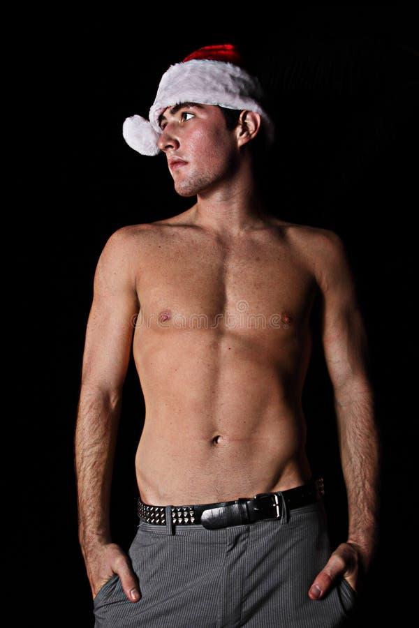 shirtless man royaltyfri fotografi