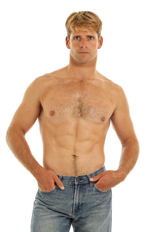 Free Shirtless Young Man Stock Images - 17780364