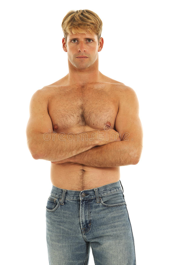 Free Shirtless Young Man Stock Images - 17780374