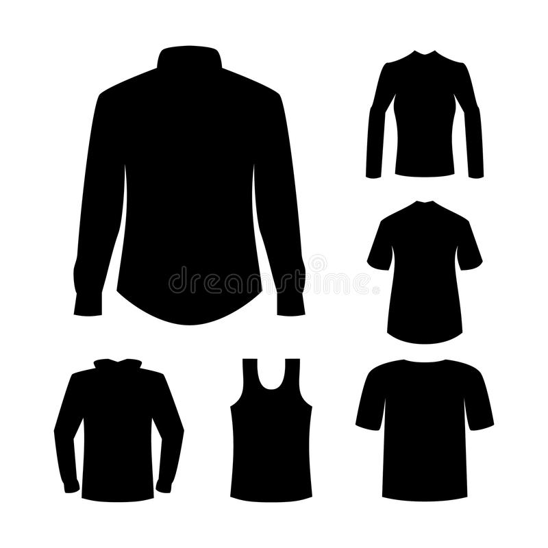 Download Shirts and garment stock vector. Illustration of idea - 16392121