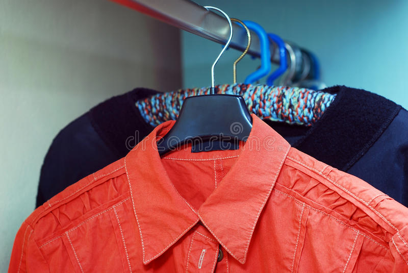 Download Shirts stock image. Image of store, textile, storage - 29993359