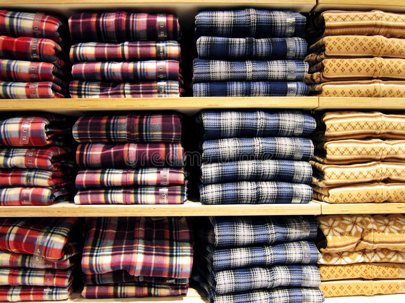 Download Shirts Neatly On The Shelf Royalty Free Stock Images - Image: 27831329