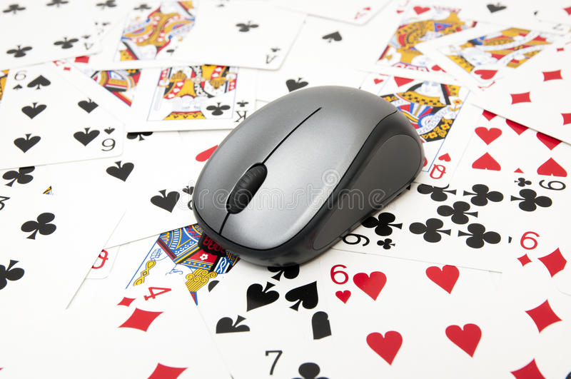 Download Shirts with poker cards stock image. Image of gambling - 33550325