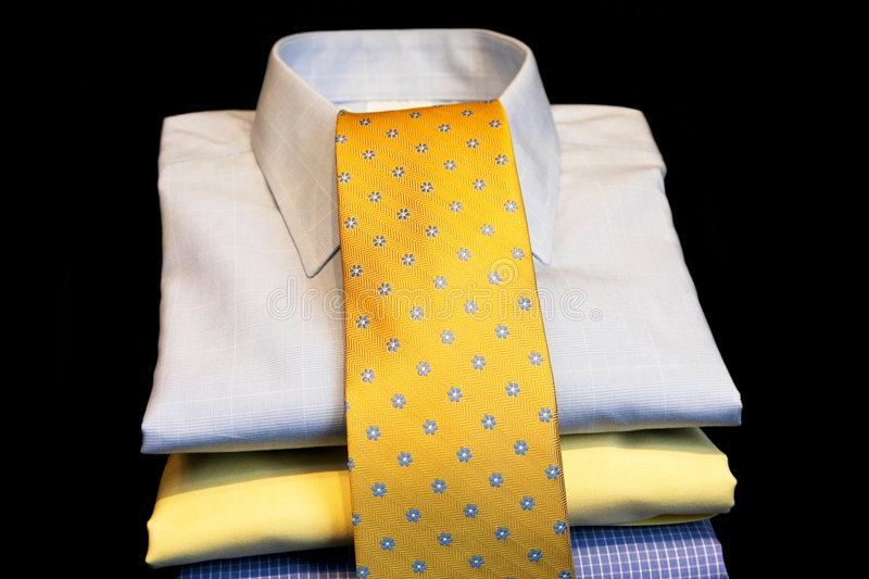Shirts And Tie Royalty Free Stock Images