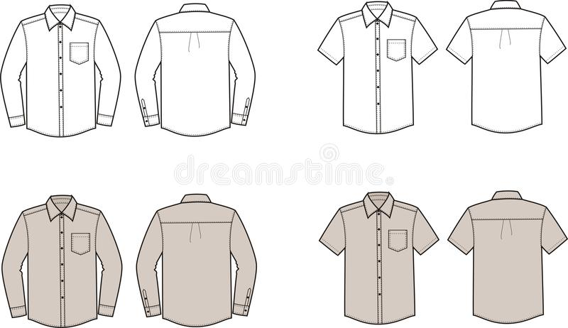 Shirts vector illustration