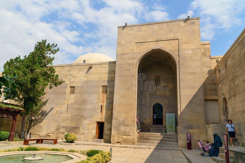 Shirvanshahs pałac kompleks w Starym mieście, Baku fotografia royalty free