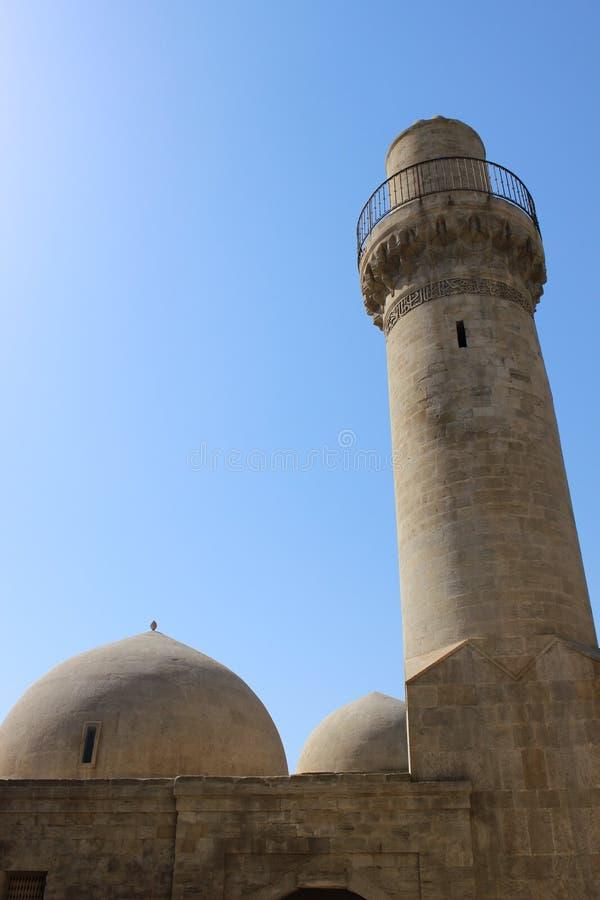 Shirvanshahs slott, Baku royaltyfri fotografi