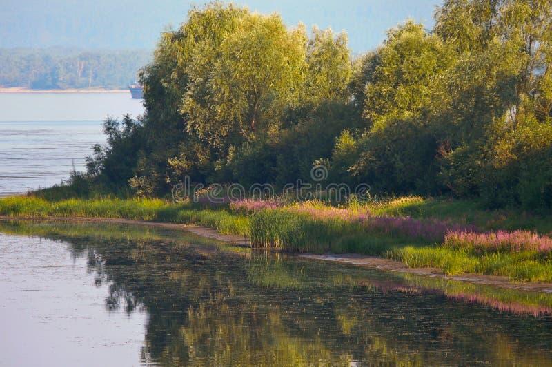 shiryaevskiy bay royalty free stock photography