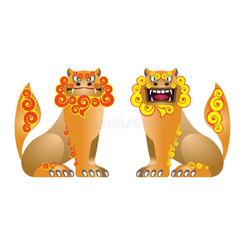 Shisa vector illustration