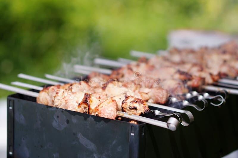 Shish kebab stockbild