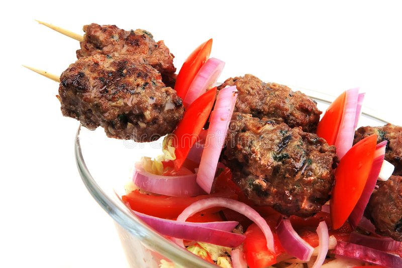 shish kebab стоковая фотография rf