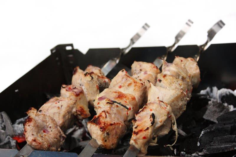 shish kebab3 royaltyfria bilder