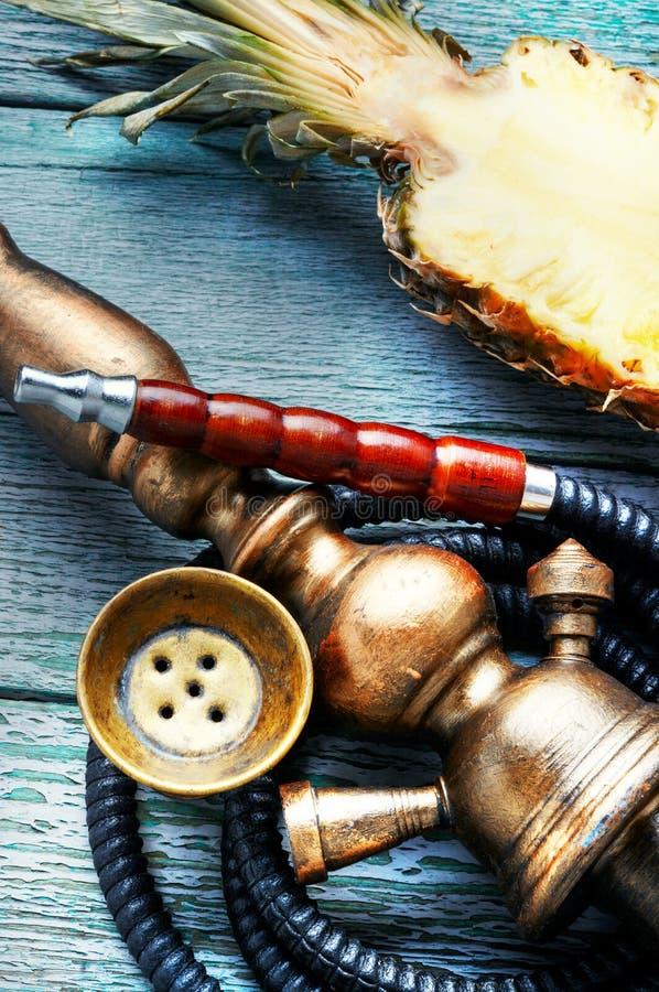 Shisha水烟筒用菠萝 库存照片