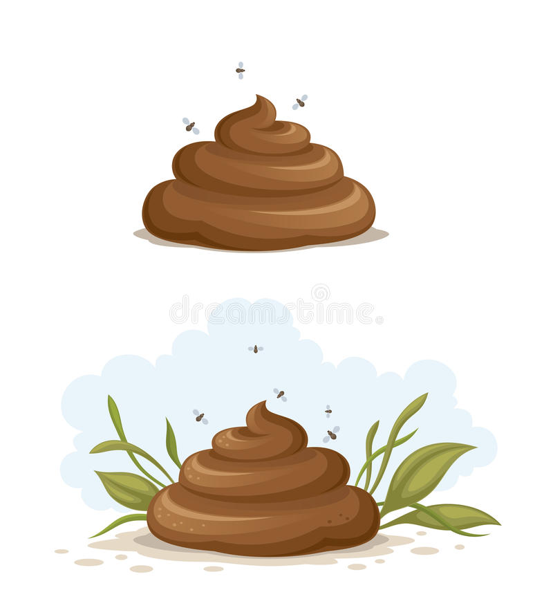 Download Shit stock vector. Image of humor, animal, excrement - 28183655