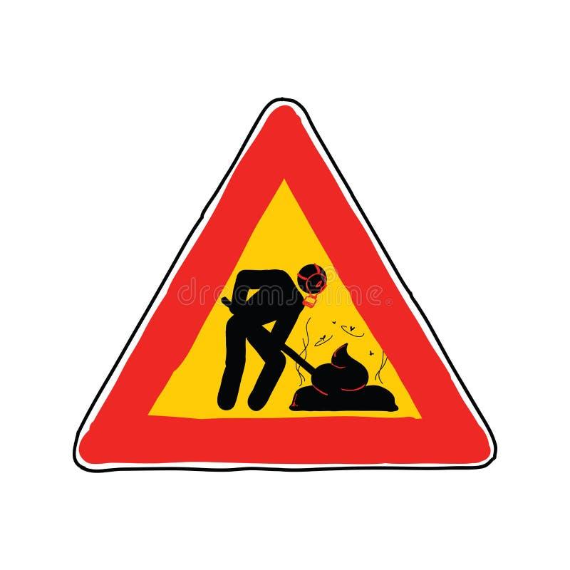 Download Shit signal stock illustration. Image of joke, fatigue - 28382618