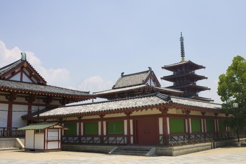 Download Shitennō-ji temple stock photo. Image of construction - 21425304