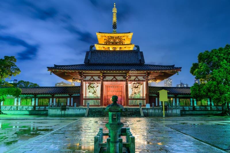 Shitennojitempel Osaka Japan royalty-vrije stock afbeelding